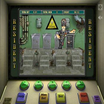 Игровой автомат Резидент в оригинальном клубе